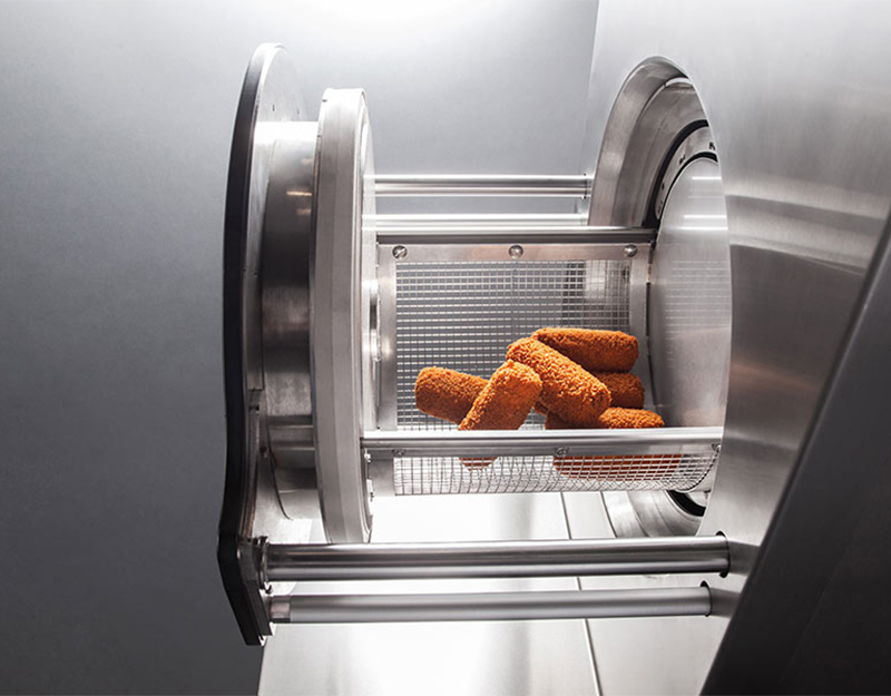 Professionele friteuse zonder frituurvet